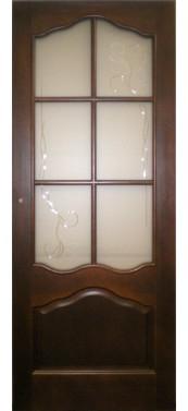 Pušinės durys M1-1