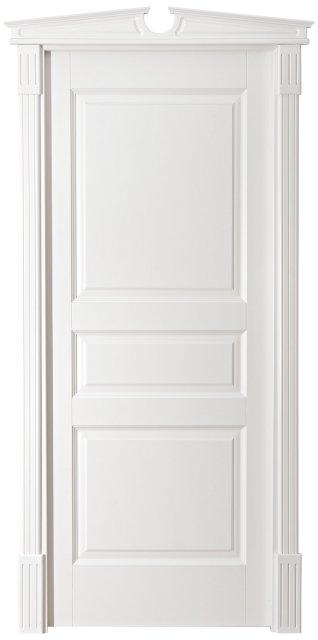 Pušinės durys M5