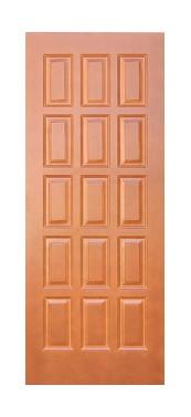 Pušinės durys M6