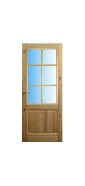 Pušinės durys M12-1S