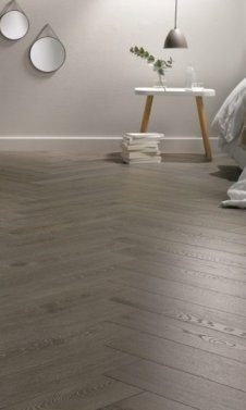 Herringbone 542 Aronia Oak